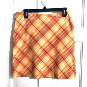 American Eagle Lightweight Plaid Skirt